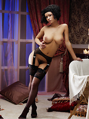 Pammie is your perfect budoir doll with voluptuous body blessed with large, perky breasts