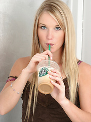 Teenager's addiction to Starbucks leads to porn career